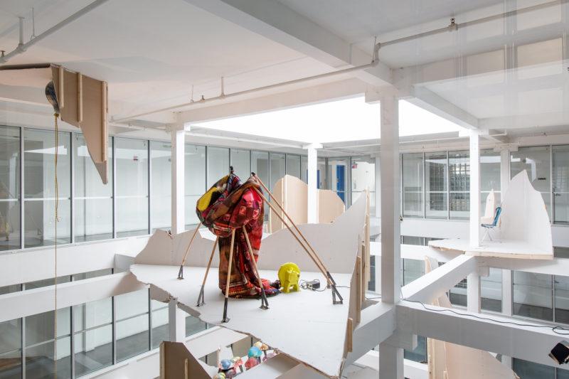 Andra Ursuta: As I Lay Drying installation view at ICA Miami