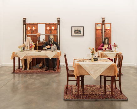 Edward and Nancy Kienholz, The Soup Course at the She-She Cafe, 1982