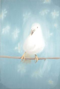 Ann Craven, Little One Eye (White Bird #2), 1998