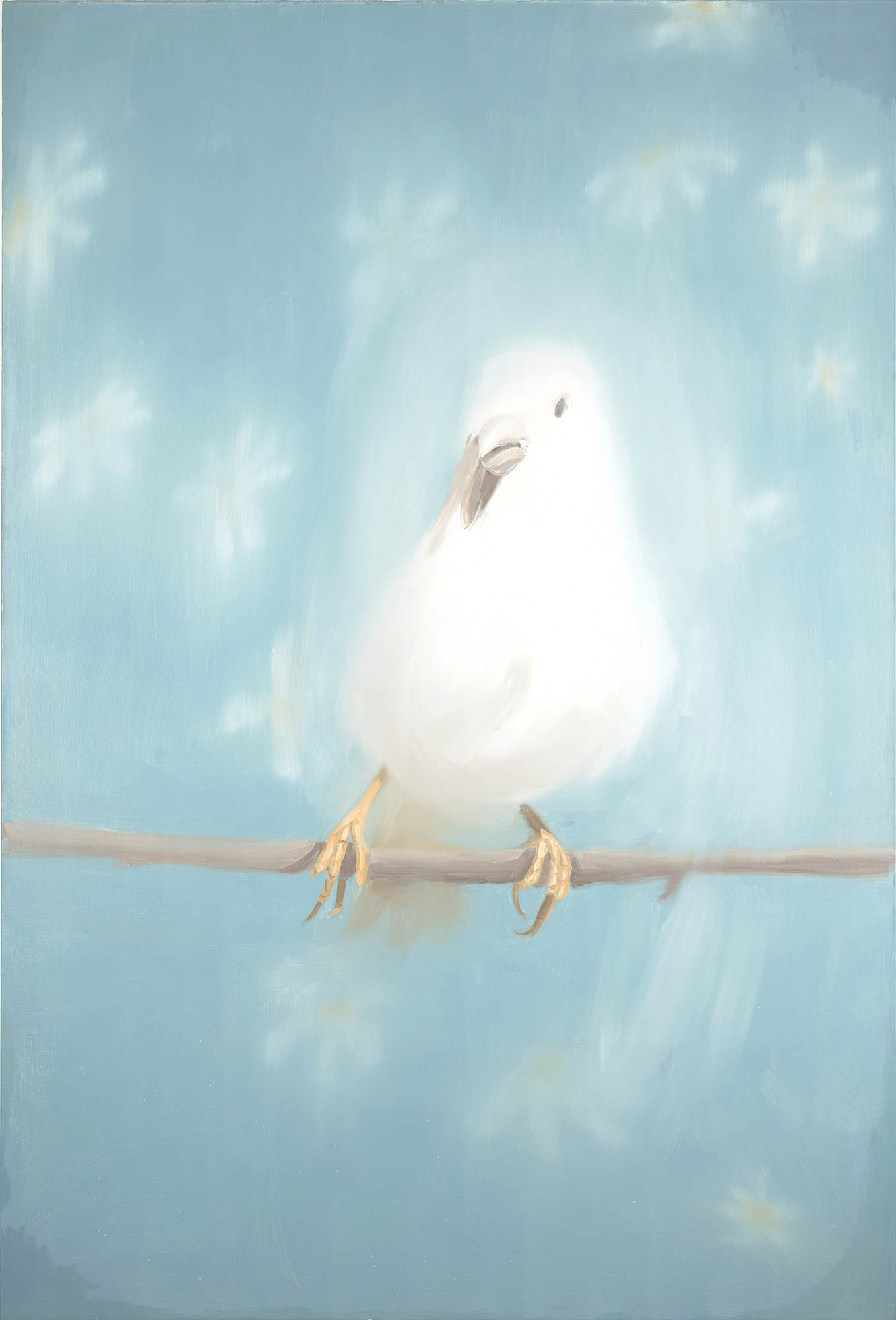 Image of Ann Craven, Little One Eye (White Bird #2), 1998