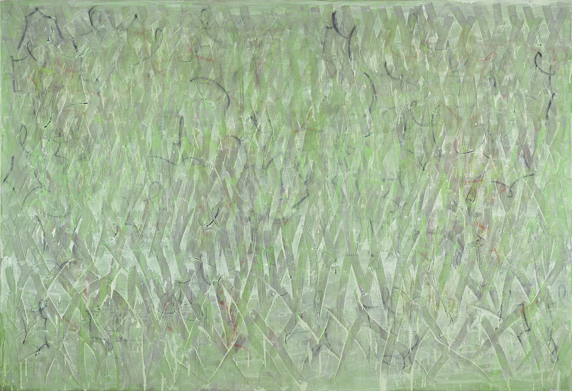 Lynne Gelfman, Burqa, Green, 2001