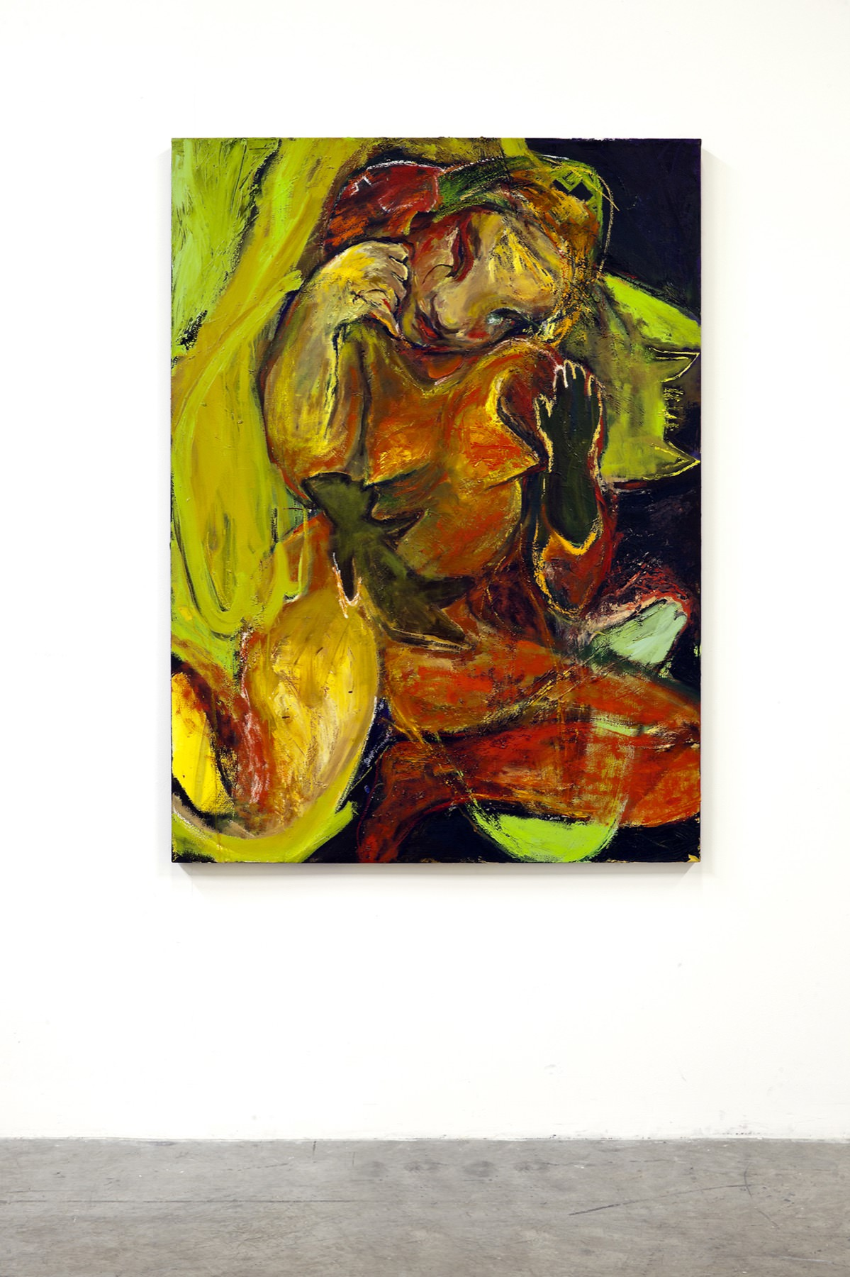 Image of Rita Ackermann, African Nurse, 2005-2008