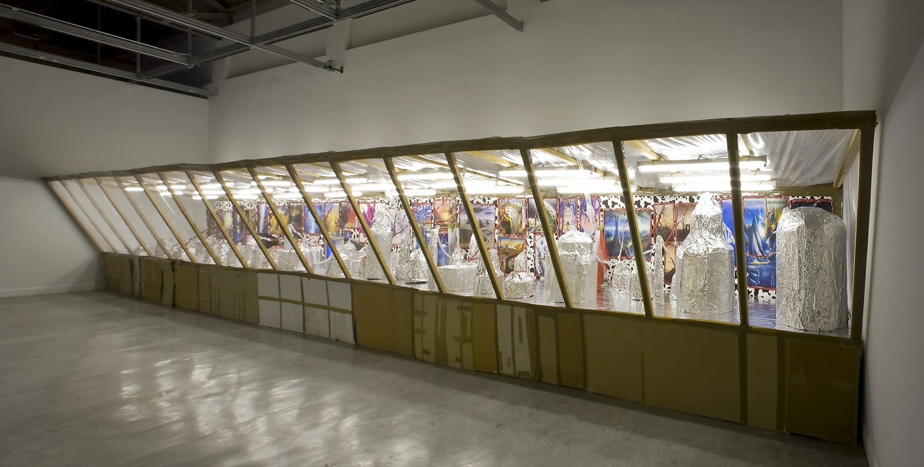 Thomas Hirschhorn, Diorama, 1997
