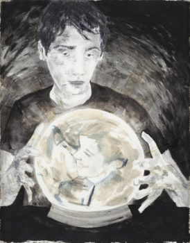 Hernan Bas, Untitled (Crystal Ball), 2001