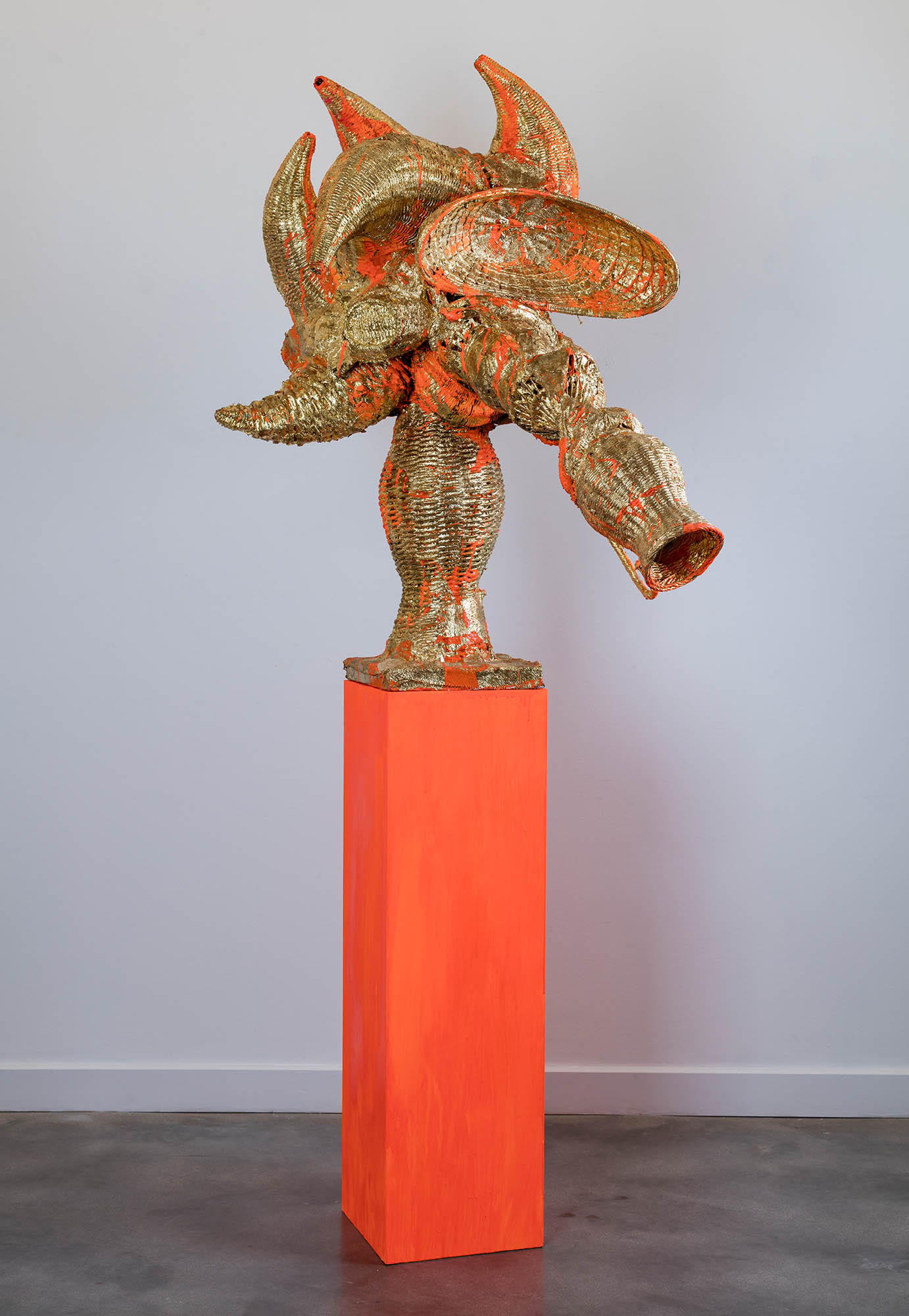 Image of Pepe Mar, Cabeza (Orange), 2010
