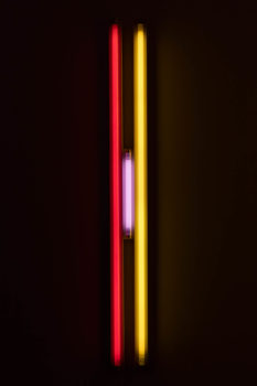 Image of Dan Flavin, Puerto Rican Lights (to Jeanie Blake), 1965