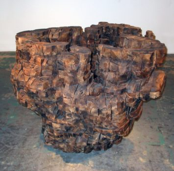 Ursula von Ryndingsvard, Untitled (Big Bowl), 1998