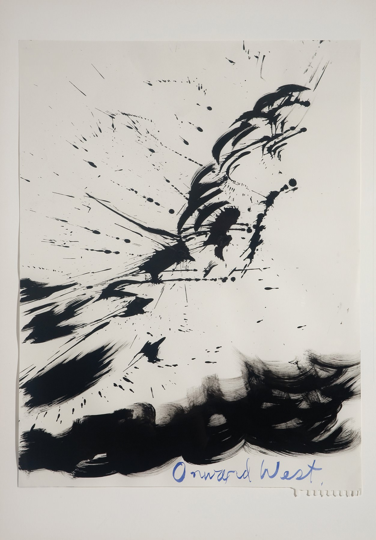 Image of Raymond Pettibon, Untitled (Onward West), 2003
