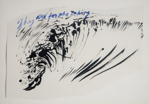 Raymond Pettibon, Untitled (They are for the taking), 2003