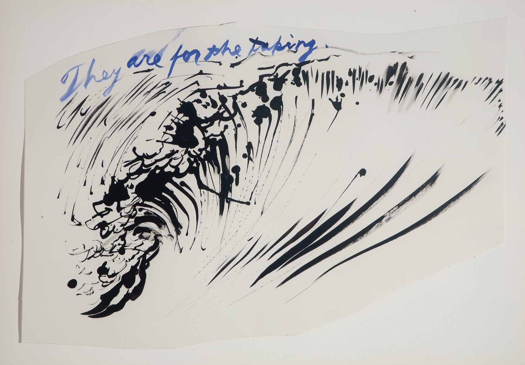 Image of Raymond Pettibon, Untitled (They are for the taking), 2003