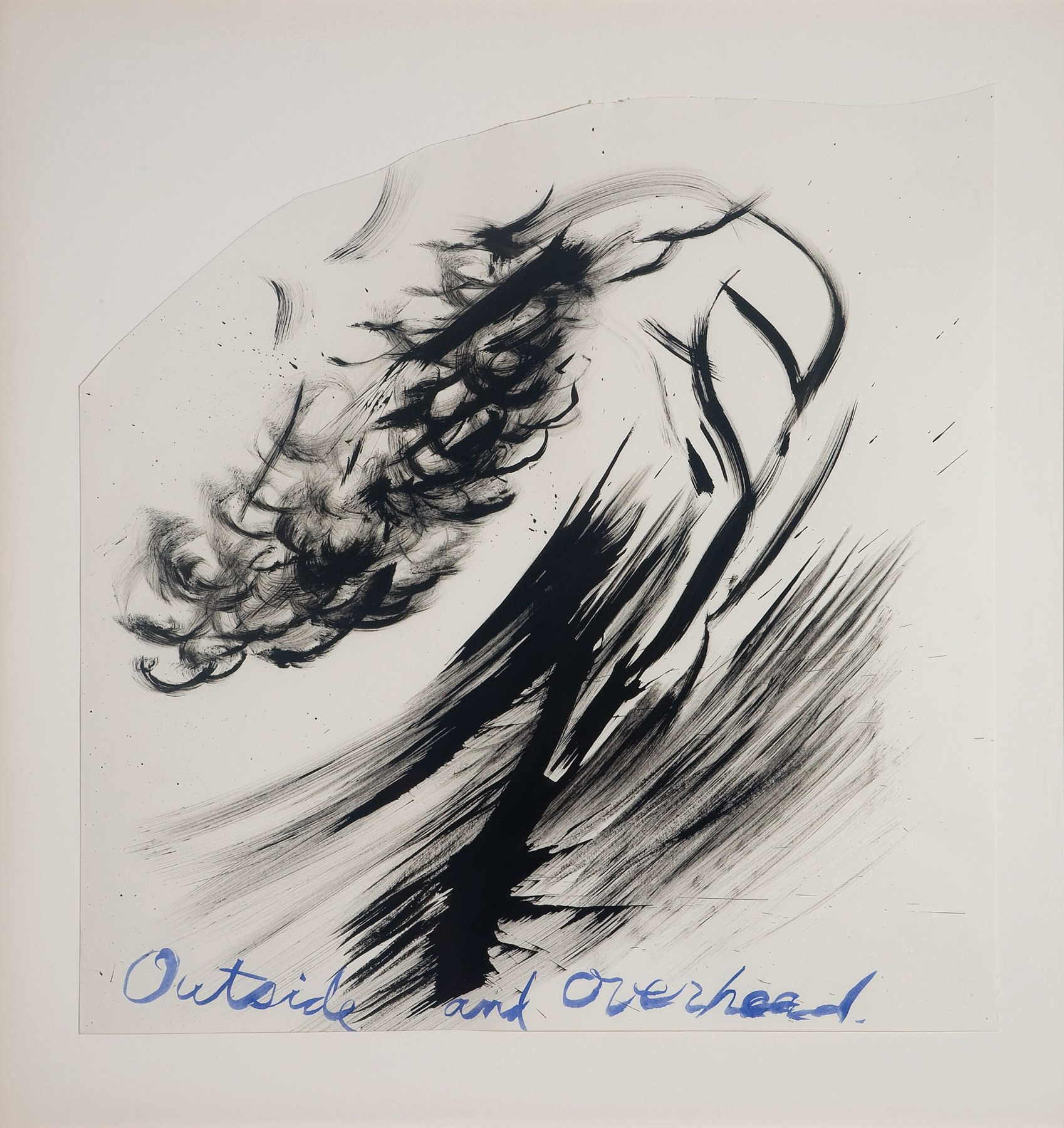 Image of Raymond Pettibon, Untitled (Outside and Overheard), 2003