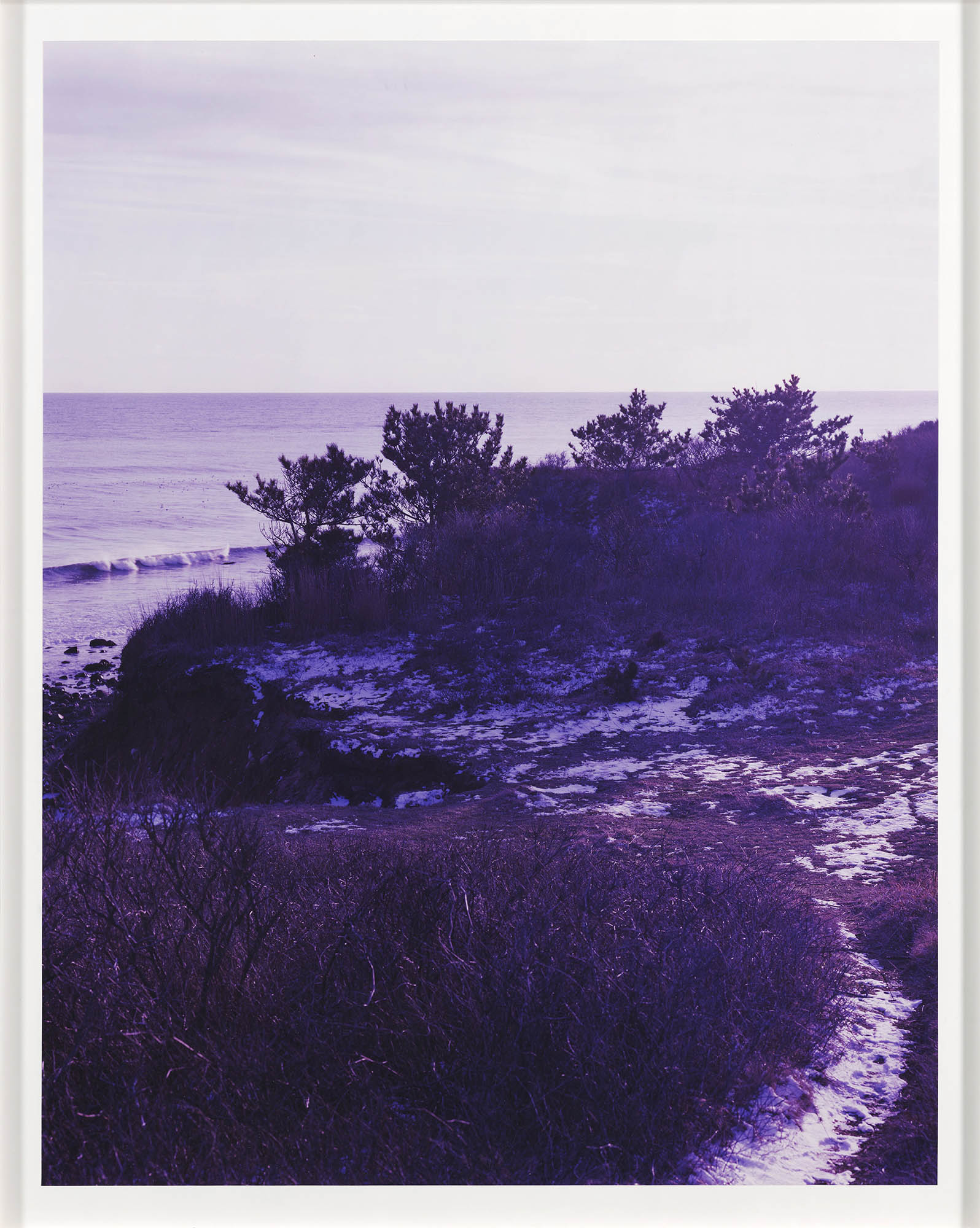 Image of Roe Ethridge, Cliff in Montauk, 2007