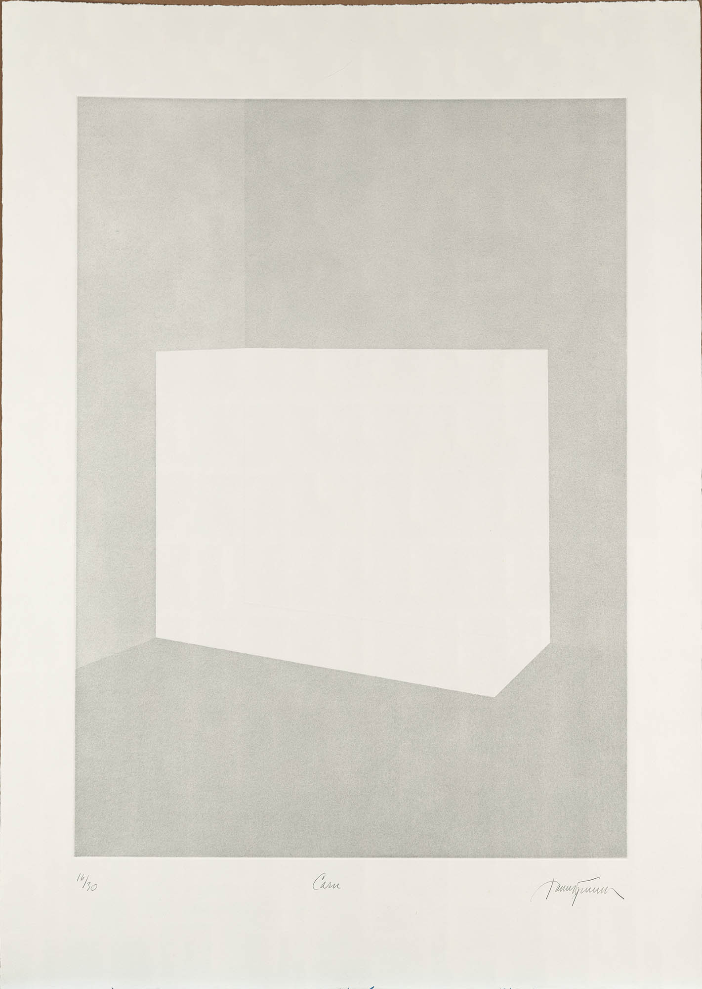 "James Turrell, Carn (from ""Still Light"" Series), 1990/91"