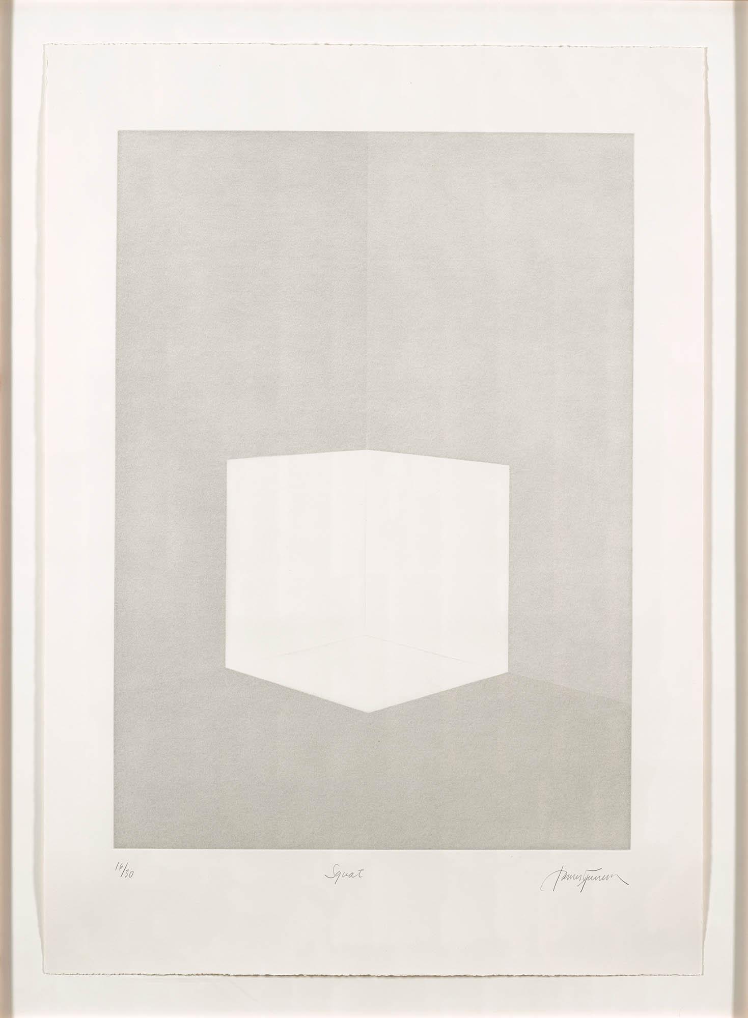 """James Turrell, Squat (from """"Still Light"""" Series), 1990/91"""