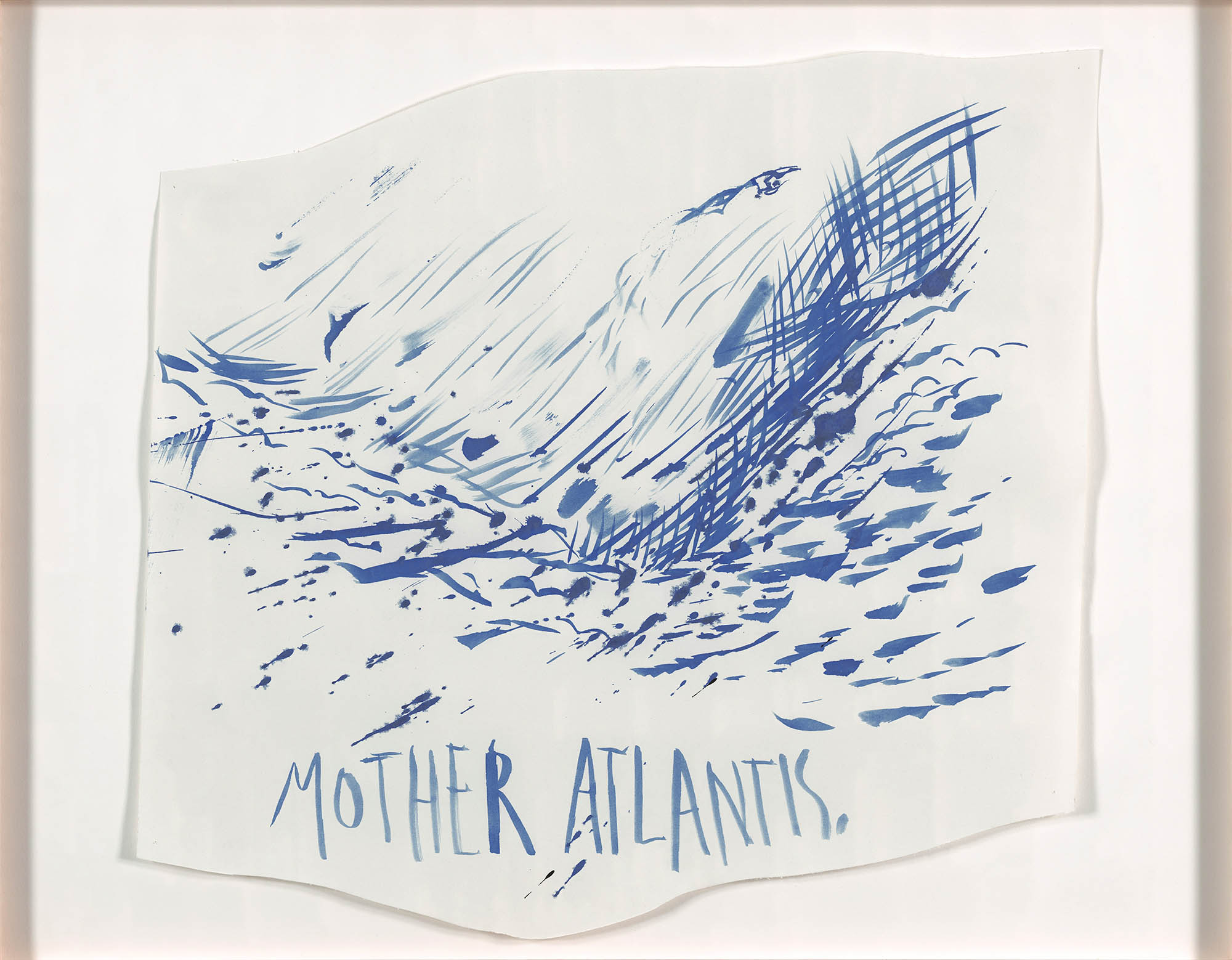 Raymond Pettibon, Untitled (Mother Atlantis), 2003
