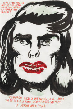 Raymond Pettibon, Untitled (Oh, me if), 1997