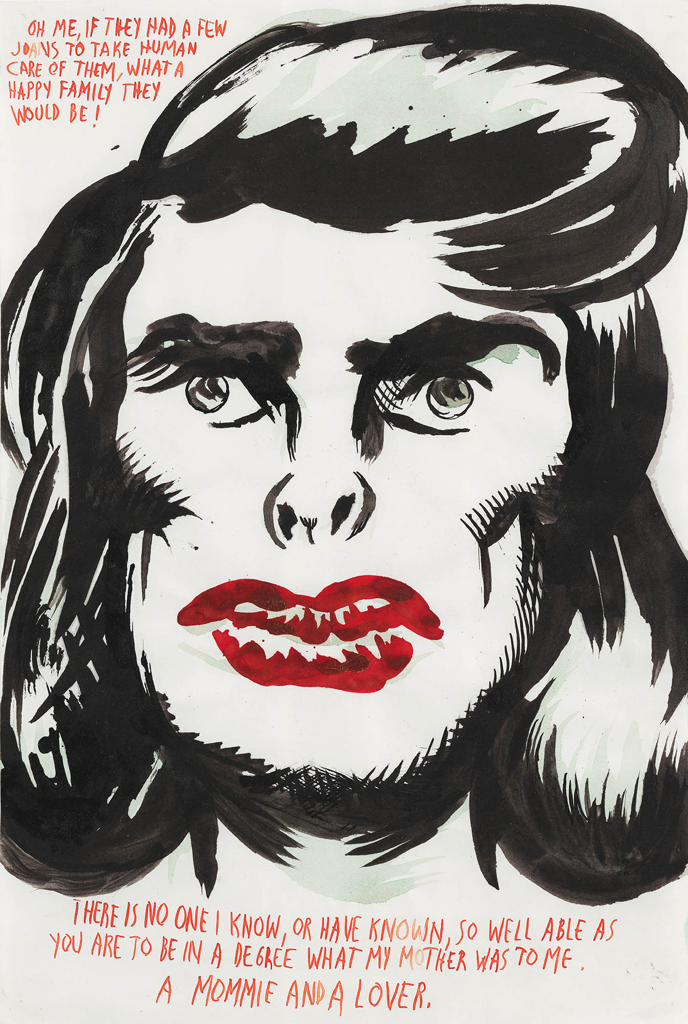 Image of Raymond Pettibon, Untitled (Oh, me if), 1997