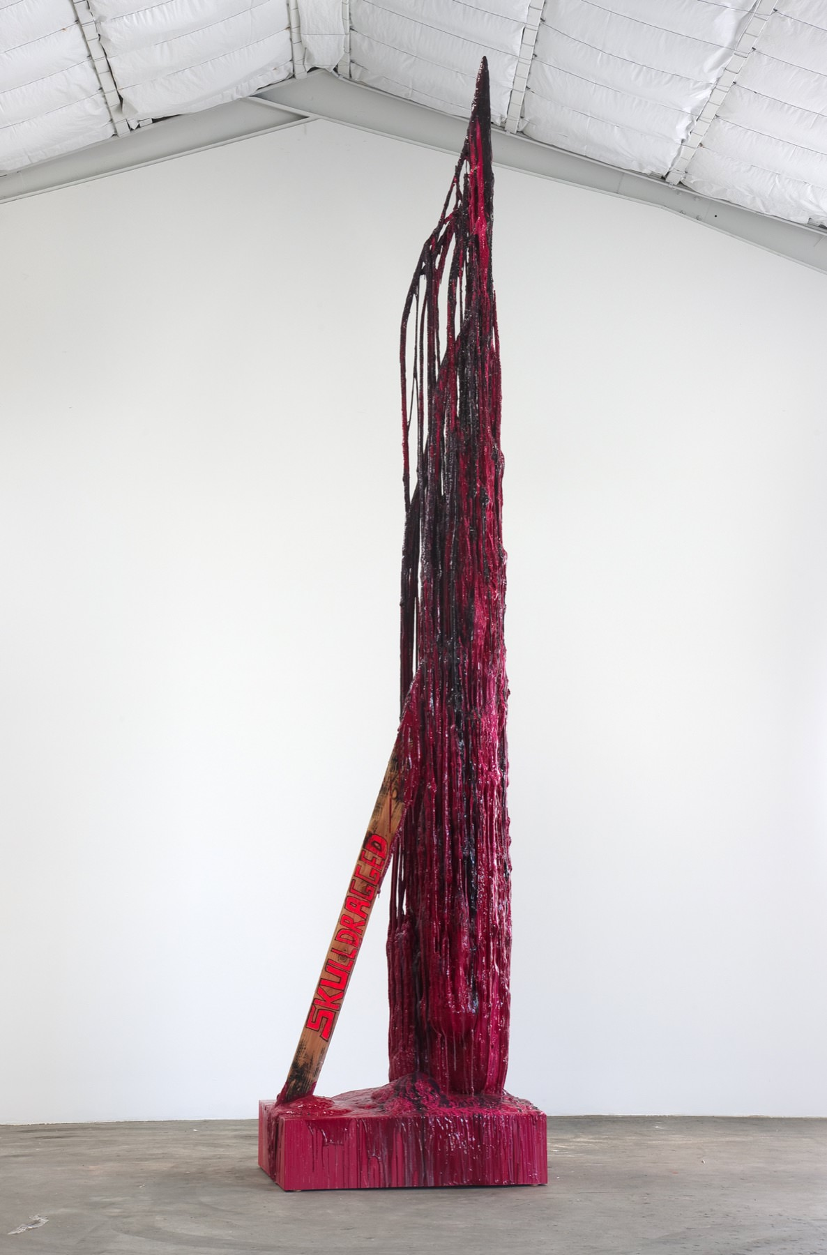 Image of Sterling Ruby, Monument Stalagmite/Skulldragged, 2010