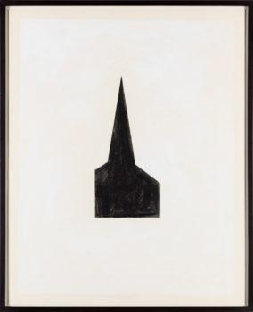 Robert Therrien, Untitled #100 (Steeple), 1980