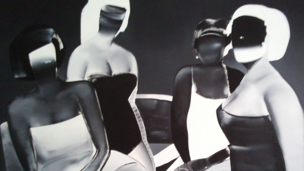 Tomoo Gokita, CLUB MATURE, detail, 2015. Acrylic gouache on linen, 259 x 194 cm. Courtesy of the Artist and Bill Brady Gallery, Miami.