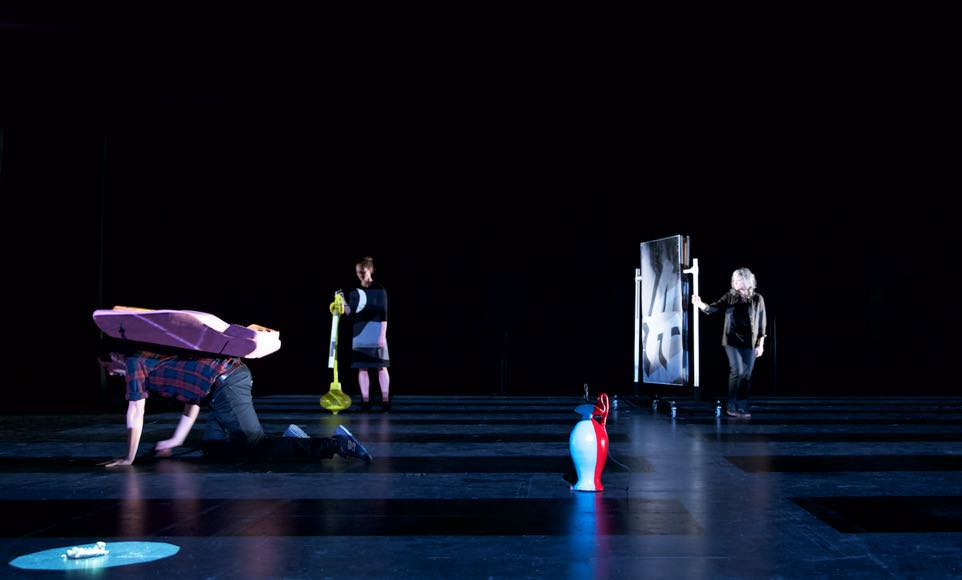Erika Vogt, Artist Theater Program, 2014. Courtesy of the Artist and Performa.