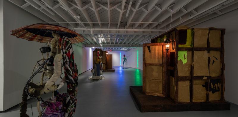 Installation view: Renaud Jerez at Institute of Contemporary Art, Miami. July 8 –October 30, 2016. Photo: Fredrik Nilsen Studio.