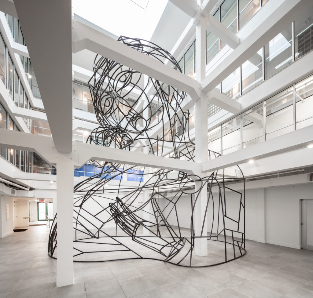 Image of Thomas Bayrle, Wire Madonna, 2016 at Institute of Contemporary Art, Miami (ICA Miami)