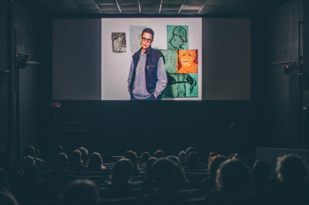 Image from Call Her Applebroog (2016) screening at O Cinema, presented by ICA Miami