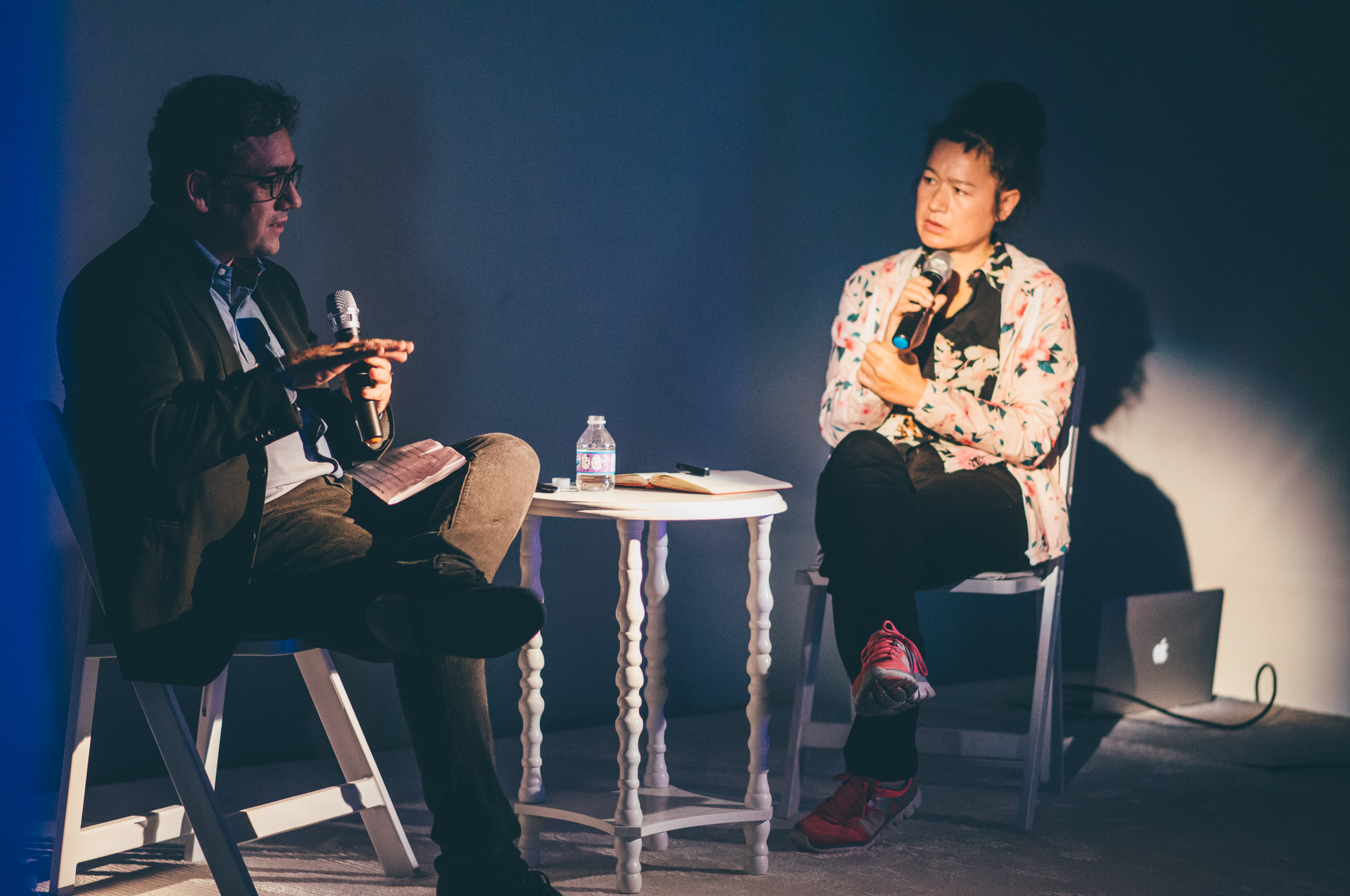 Hito Steyerl at the Art + Research Center, ICA Miami. Photo: Javier Sanchez
