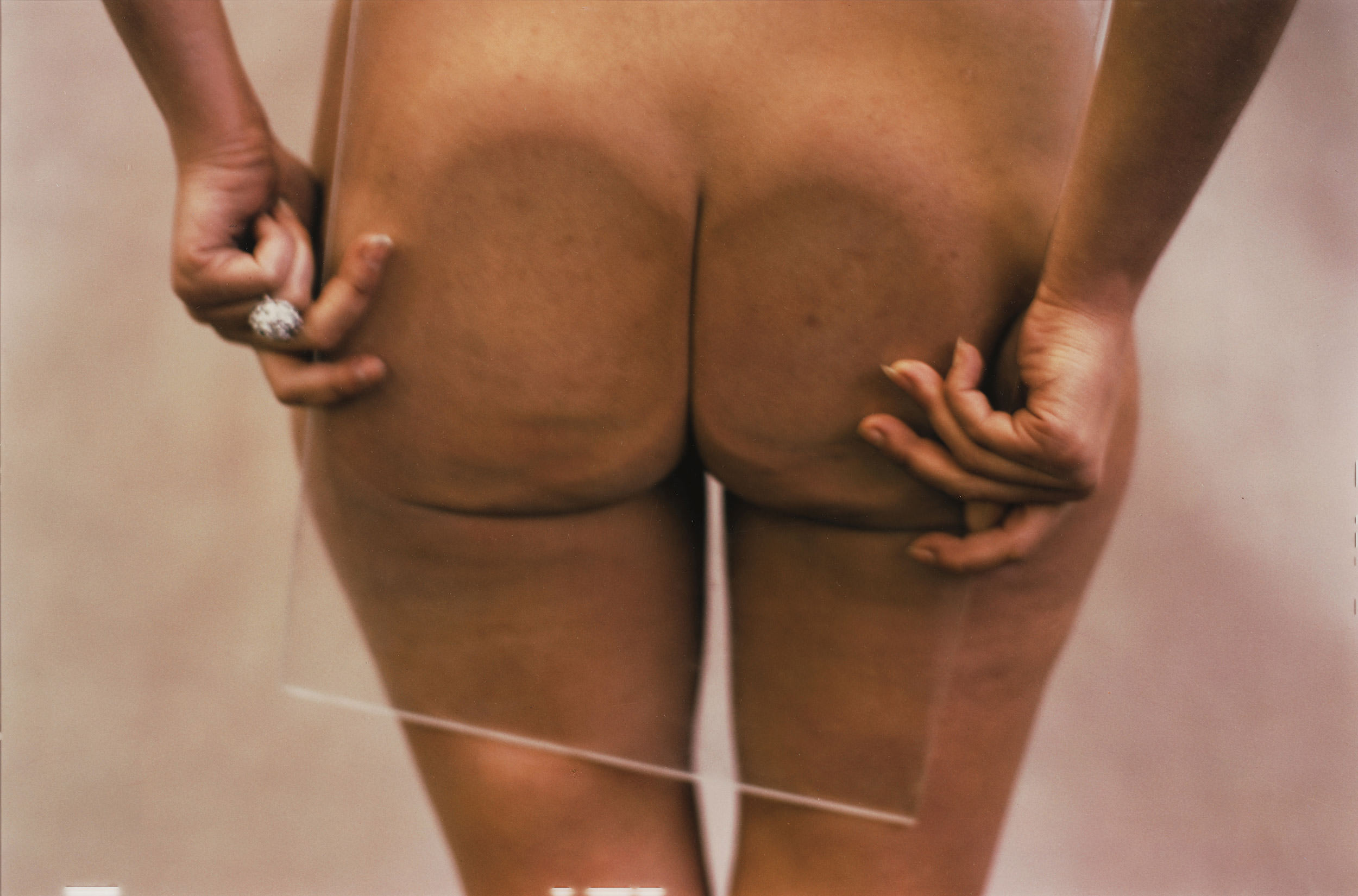 3 Ana Mendieta, Untitled (Glass on Body), 1972.
