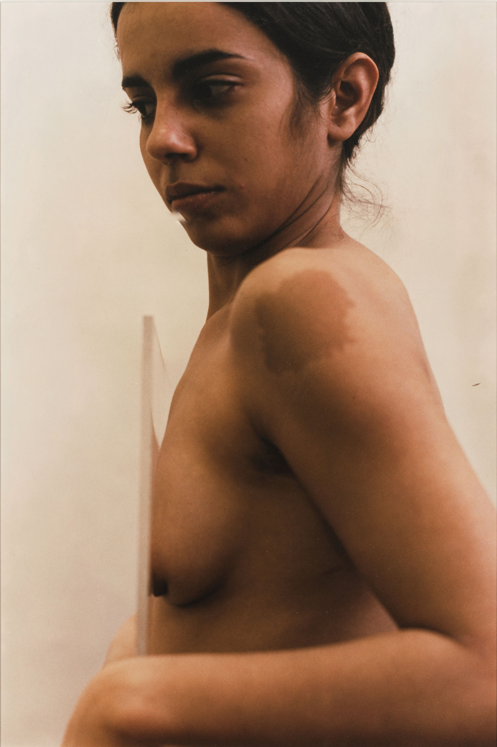 Ana Mendieta, Untitled (Glass on Body), 1972