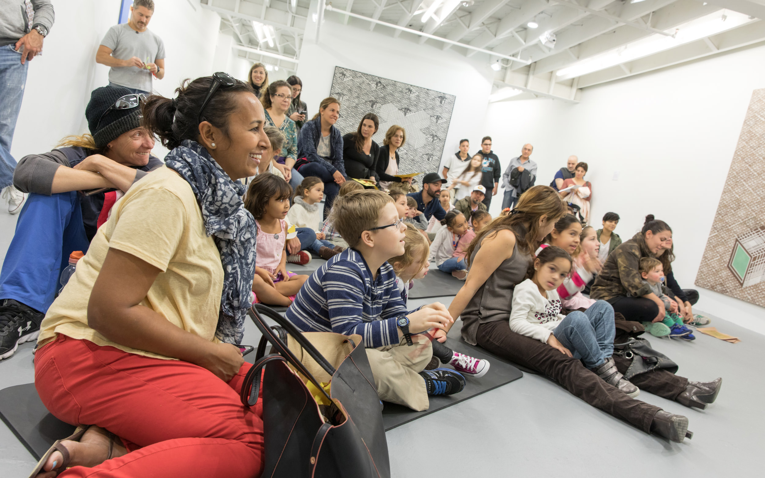 Family Day at ICA Miami, January 2017