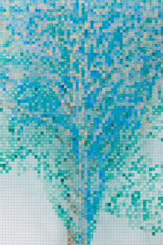 Image detail of Charles Gaines, Numbers and Trees: Central Park Series IV: Tree #7, Maria, 2017