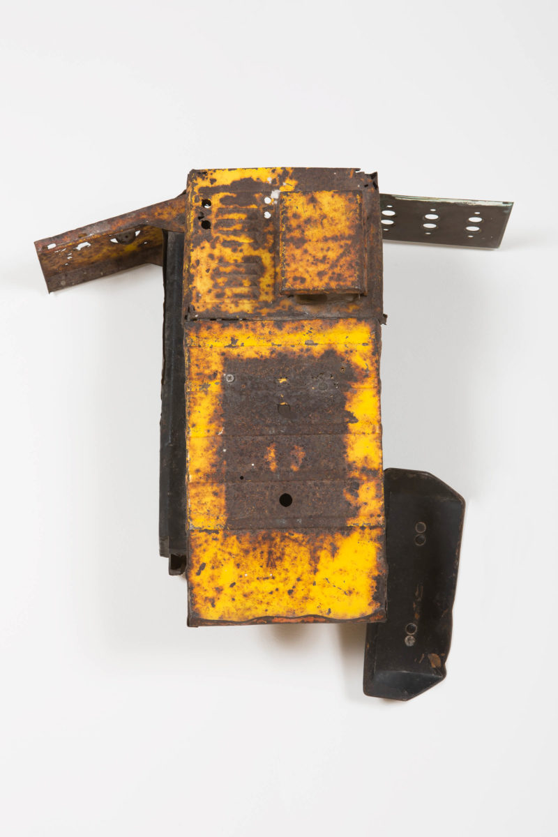 Terry Adkins, Greater Deeps (from Firmament RHA), 1995. Tin, wood. © The Estate of Terry Adkins, New York.