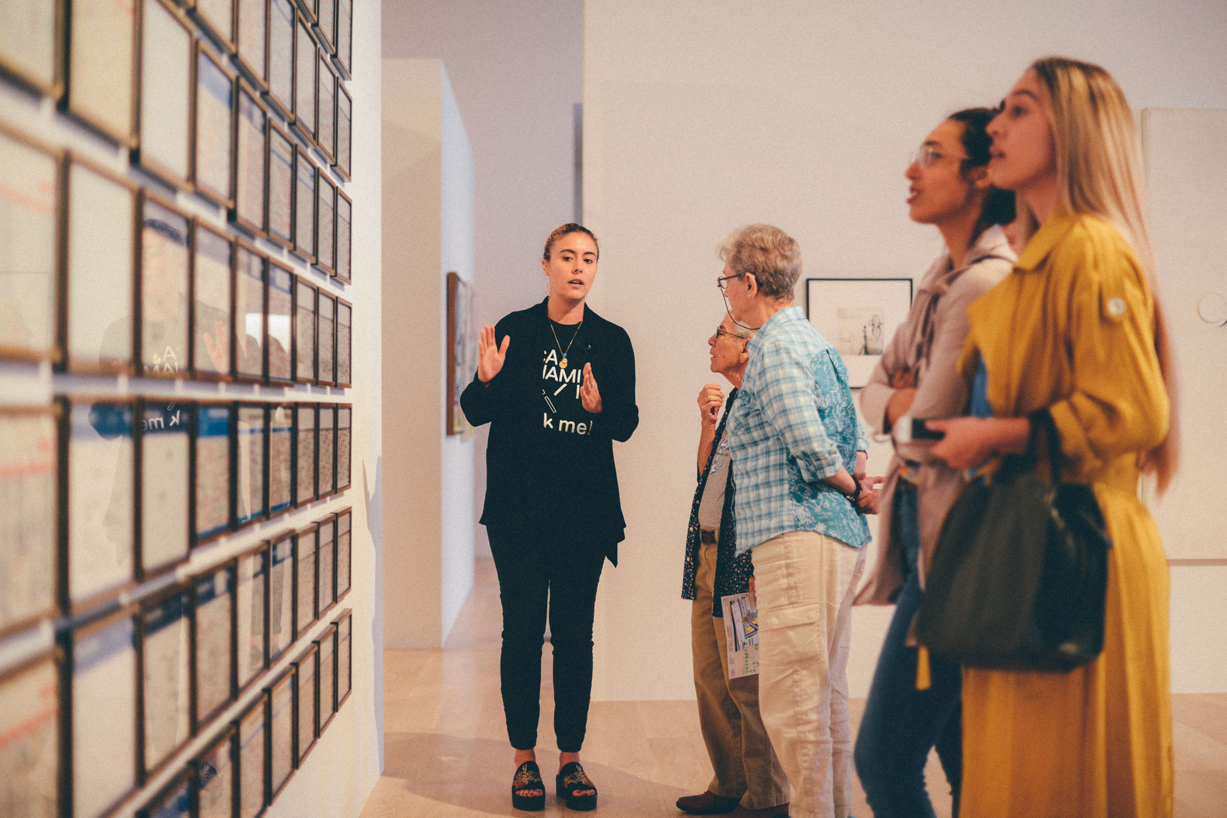 Adult Group Tours at ICA Miami. Photo: Javier Sanchez.
