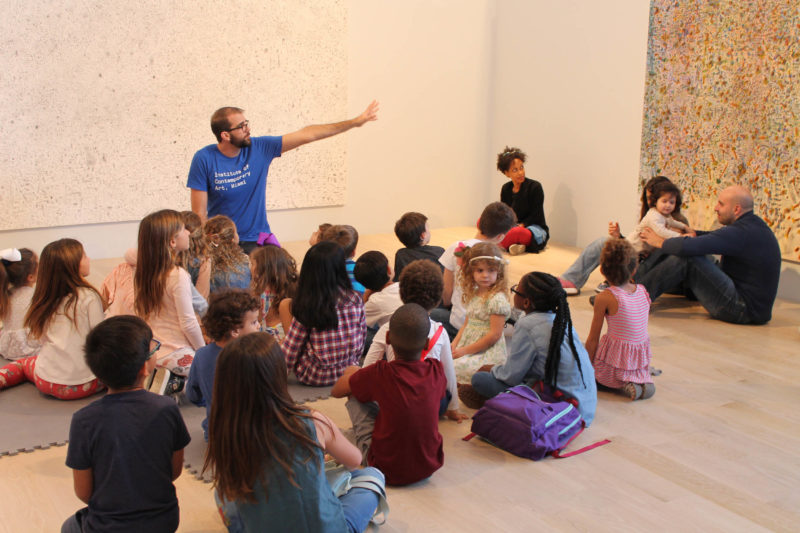 Family Day at ICA Miami. Photo: Robert Badillo.