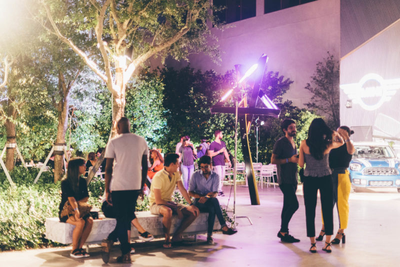 First Fridays at ICA Miami, July 2018. Photo: Javier Sanchez.