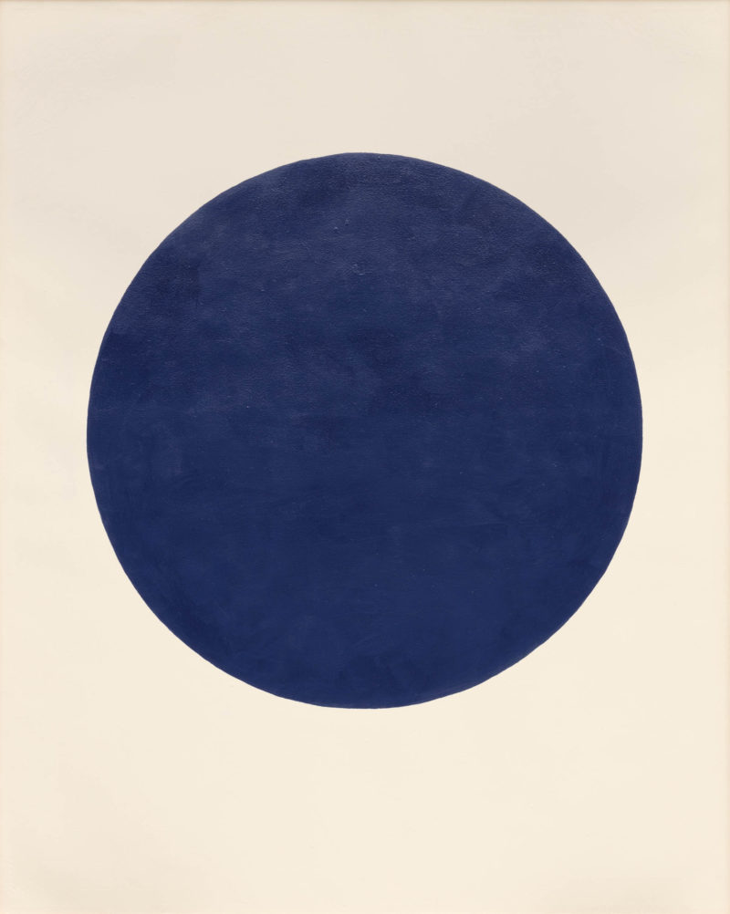 Walter Darby Bannard, Blue Moon, 1961. Alkyd resin on canvas. Courtesy the Estate of Walter Darby Bannard and Berry Campbell Gallery, New York. Photo: Silvia Ros.