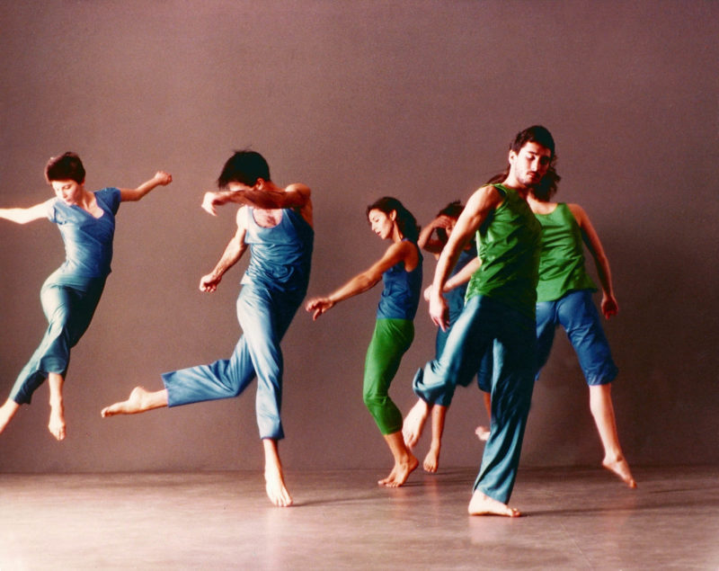 Trisha Brown Dance Company, Son of Gone Fishin', 1978. Photo: Lois Greenfield.