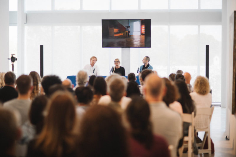 ICA Ideas: In Conversation with Flavin Judd. Photo: Karli Evans.