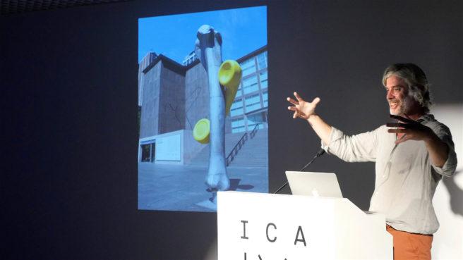 Mark Handforth at ICA Miami.