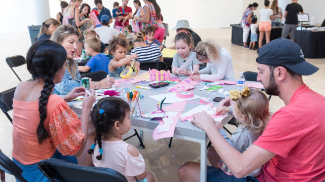 Photo from Family Open Studio at ICA Miami