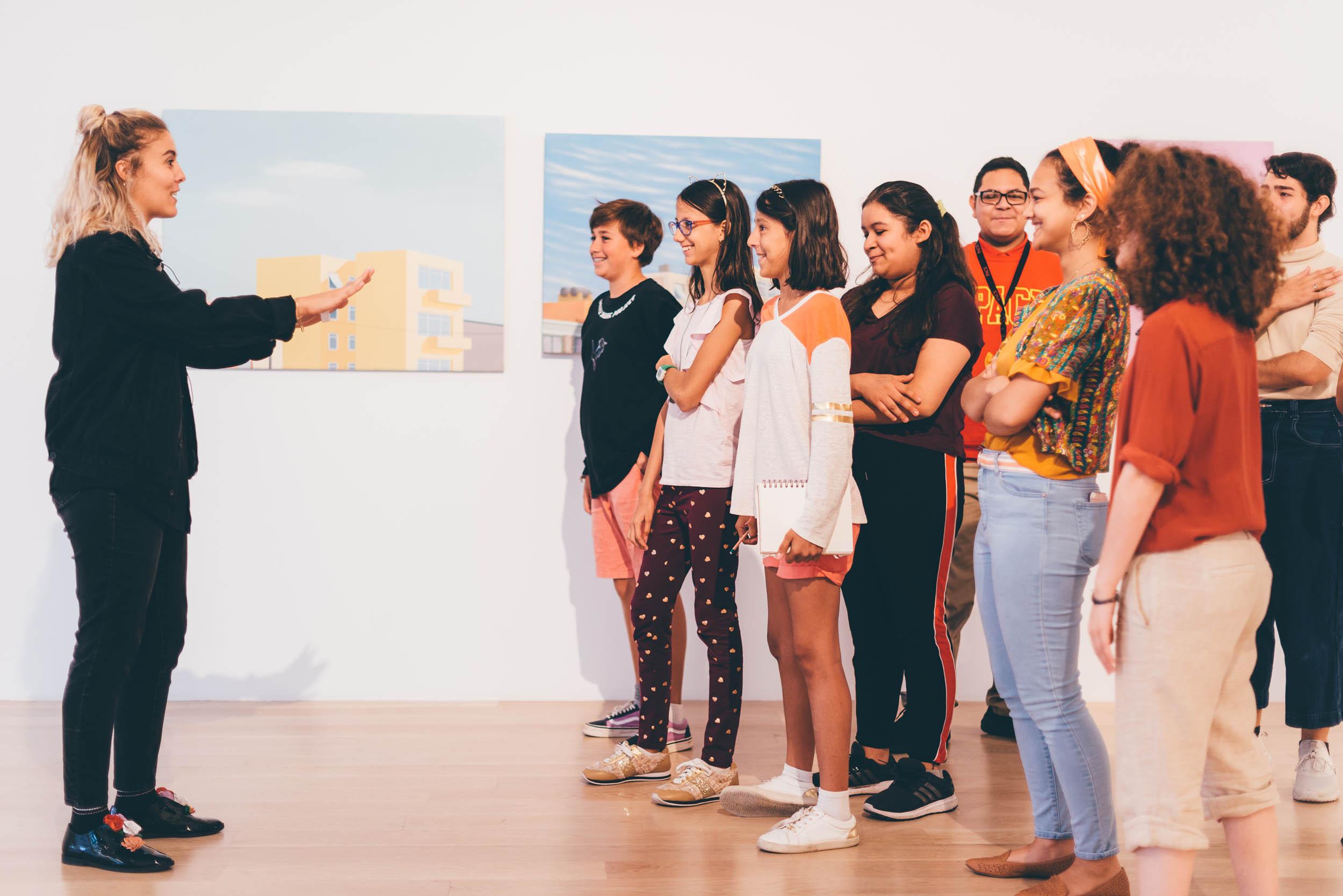 Education at ICA Miami. Photo: Javier Sanchez.