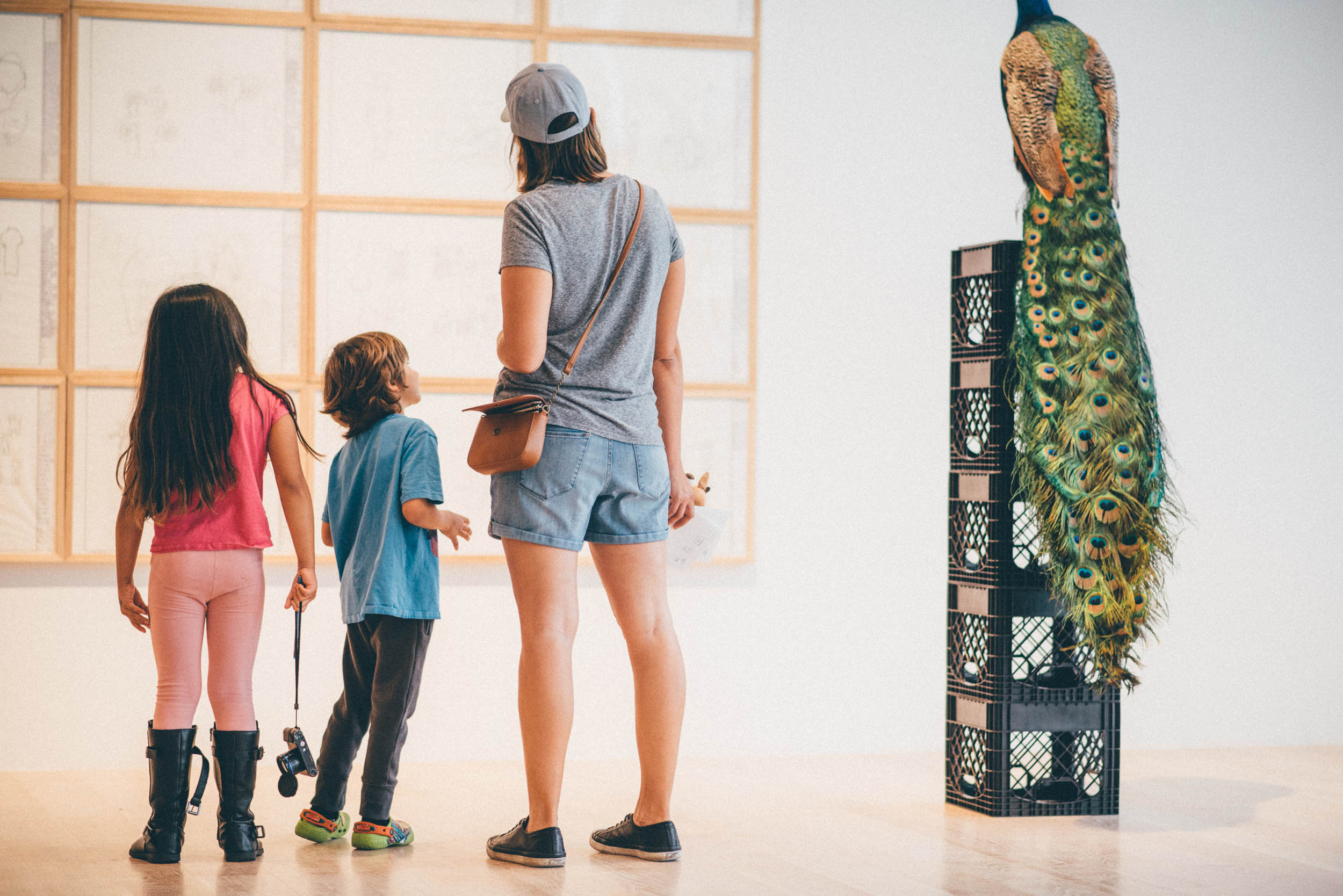 Family Day in the Miami Design District at ICA Miami. Photo: Javier Sanchez.