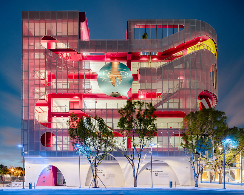 Museum Garage in the Miami Design District. WORKac's ant farm frames miniature public spaces. Photo: imagen subliminal (miguel de guzman + rocio romero).