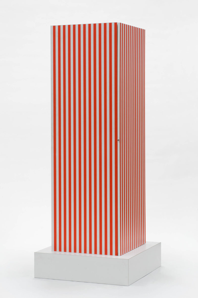 "Ettore Sottsass, ""Superbox"" Cupboard, designed 1966. Plywood, plastic laminate. Philadelphia Museum of Art, Gift of Abet Laminati S.p.A., 1983-40-2. © 2019 Artists Rights Society (ARS), New York / ADAGP, Paris."