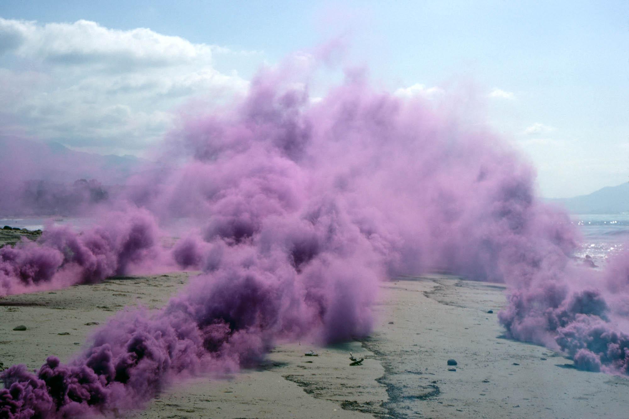 Judy Chicago, Purple Atmosphere, 1969
