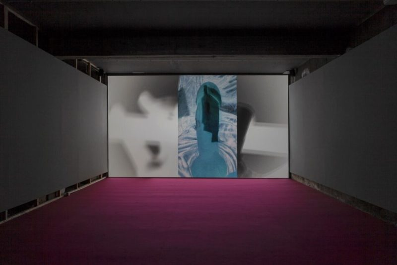 Installation view: Dara Friedman, L☿️ver, Galleria Franco Noero, Turin, 2018–19. Courtesy Galleria Franco Noero, Turin.