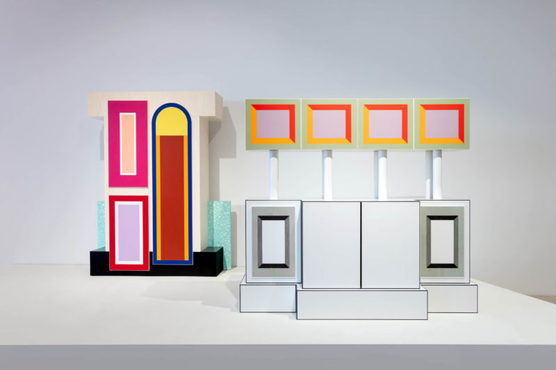 "Installation view: ""Ettore Sottsass and the Social Factory"" at ICA Miami. Apr 18 – Oct 6, 2019. © 2019 Artists Rights Society (ARS), New York; ADAGP, Paris. Photo: Silvia Ros."