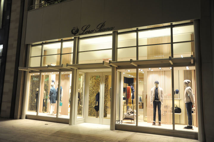 Loro Piana in the Miami Design District. Courtesy Loro Piana.